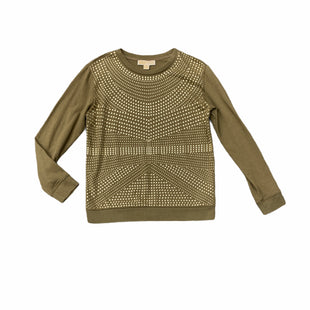 Primary Photo - BRAND: MICHAEL KORS STYLE: TOP LONG SLEEVE COLOR: OLIVE SIZE: S SKU: 196-19681-72080