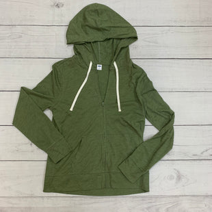 Primary Photo - BRAND: OLD NAVY STYLE: ATHLETIC JACKET COLOR: GREEN SIZE: S SKU: 196-19666-16279