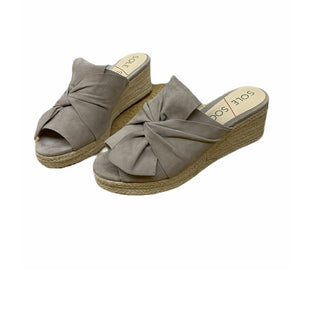 Primary Photo - BRAND: SOLE SOCIETY STYLE: SANDALS LOW COLOR: TAN SIZE: 7.5 SKU: 196-196112-54192