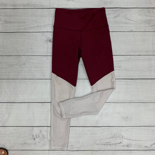 Primary Photo - BRAND:    CLOTHES MENTOR STYLE: ATHLETIC PANTS COLOR: MAROON SIZE: S OTHER INFO: NUALIME - SKU: 196-14511-45844
