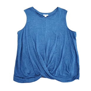 Primary Photo - BRAND: J JILL STYLE: TOP SLEEVELESS COLOR: BLUE SIZE: 1X SKU: 196-196112-57022100% LINEN