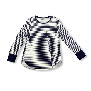 Primary Photo - BRAND: OLD NAVY STYLE: TOP LONG SLEEVE BASIC COLOR: BLUE WHITE SIZE: 1X SKU: 190-190106-46827