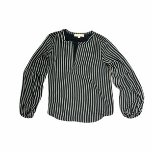 Primary Photo - BRAND: ANN TAYLOR LOFT STYLE: TOP LONG SLEEVE COLOR: BLACK WHITE SIZE: XS SKU: 196-19681-72123