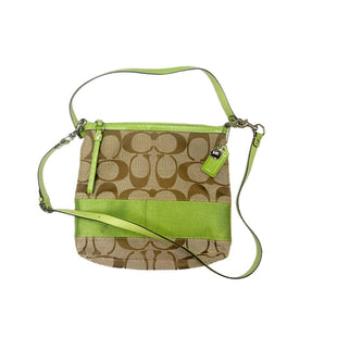 Primary Photo - BRAND: COACH STYLE: HANDBAG DESIGNER COLOR: GREEN SIZE: MEDIUM SKU: 196-19681-74018