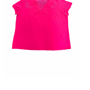 Primary Photo - BRAND: LIVI ACTIVE STYLE: ATHLETIC TOP SHORT SLEEVE COLOR: PINK SIZE: 2X SKU: 196-196145-477