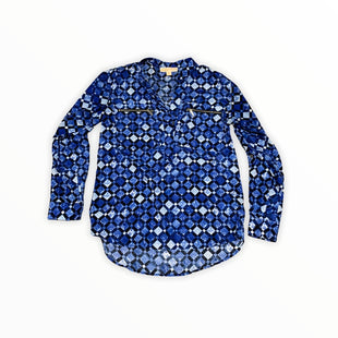 Primary Photo - BRAND: MICHAEL BY MICHAEL KORS STYLE: TOP LONG SLEEVE COLOR: BLUE SIZE: S SKU: 196-19694-35265