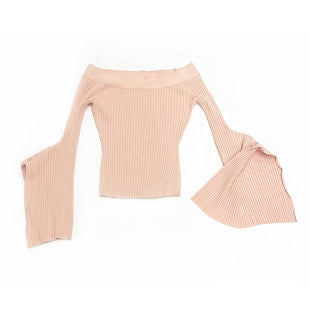 Primary Photo - BRAND: BCBGMAXAZRIASTYLE: TOP LONG SLEEVECOLOR: DUSTY PINKSIZE: XSSKU: 196-196136-3916