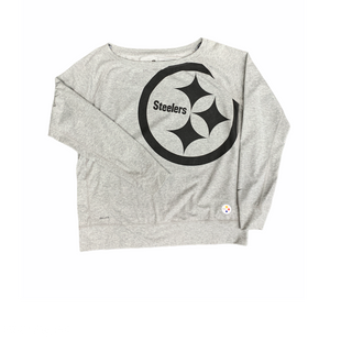 Primary Photo - BRAND: NFL STYLE: ATHLETIC TOP COLOR: GREY SIZE: XL SKU: 196-19666-17503