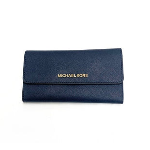 Primary Photo - BRAND: MICHAEL KORSSTYLE: WALLETCOLOR: BLUESIZE: SMALLSKU: 196-19694-33524