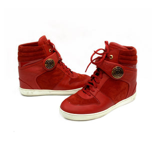 Primary Photo - BRAND: LOUIS VUITTONSTYLE: SHOES DESIGNERCOLOR: REDSIZE: 11SKU: 196-14511-43085