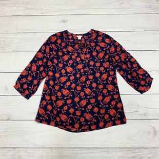Primary Photo - BRAND: CASLON STYLE: TOP LONG SLEEVE COLOR: BLUE RED SIZE: XS SKU: 196-196112-51996