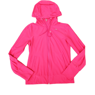 Primary Photo - BRAND: ADIDAS STYLE: ATHLETIC JACKET COLOR: PINK SIZE: S SKU: 196-19681-74573