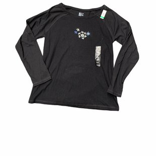 Primary Photo - BRAND: HUE STYLE: TOP LONG SLEEVE BASIC COLOR: BLACK SIZE: L SKU: 196-19681-71323