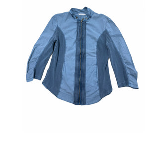 Primary Photo - BRAND: SOFT SURROUNDINGS STYLE: TOP LONG SLEEVE COLOR: BLUE SIZE: M SKU: 196-196133-4204
