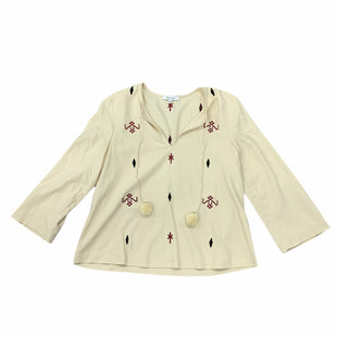 Primary Photo - BRAND: MADEWELL STYLE: TOP LONG SLEEVE COLOR: TAN SIZE: XS SKU: 196-19681-74154