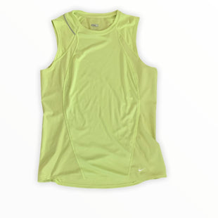 Primary Photo - BRAND: NIKE APPAREL STYLE: ATHLETIC TANK TOP COLOR: NEON SIZE: M SKU: 196-196112-48482