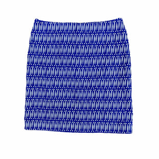 Primary Photo - BRAND: ANN TAYLOR STYLE: SKIRT COLOR: BLUE WHITE SIZE: 4 SKU: 196-196112-57849