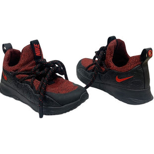 Primary Photo - BRAND: NIKE STYLE: SHOES ATHLETIC COLOR: RED BLACK SIZE: 7 SKU: 196-196145-566