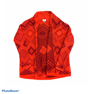 Primary Photo - BRAND: OLD NAVY STYLE: SWEATER CARDIGAN HEAVYWEIGHT COLOR: RED SIZE: S SKU: 196-19681-72439