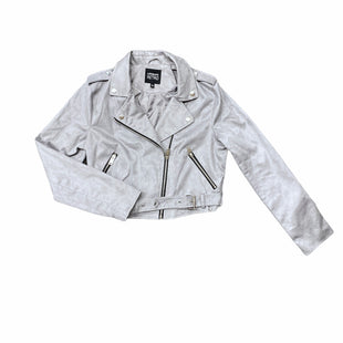 Primary Photo - BRAND:    URBAN RETROSTYLE: JACKET OUTDOOR COLOR: GREY SIZE: L OTHER INFO: URBAN RETRO - SKU: 196-19681-73457