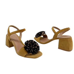 Primary Photo - BRAND: ZARA WOMEN STYLE: SANDALS LOW COLOR: TAN SIZE: 7.5 SKU: 196-19666-17551
