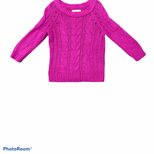 Primary Photo - BRAND: ANN TAYLOR LOFT STYLE: SWEATER HEAVYWEIGHT COLOR: RASPBERRY SIZE: S SKU: 196-196112-52930