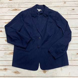 Primary Photo - BRAND: ISAAC MIZRAHI LIVE QVC STYLE: BLAZER JACKET COLOR: NAVY SIZE: 2X SKU: 196-196112-50672
