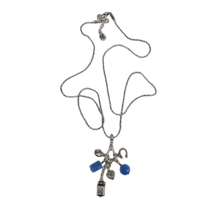 Primary Photo - BRAND: BRIGHTON STYLE: NECKLACE COLOR: SILVER OTHER INFO: BLUE STONES SKU: 196-196112-56022