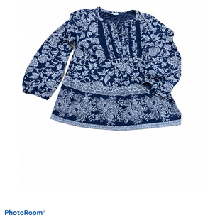 Primary Photo - BRAND: LUCKY BRAND STYLE: TOP LONG SLEEVE COLOR: BLUE WHITE SIZE: S SKU: 196-196145-1039