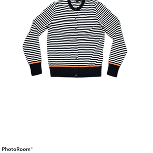 Primary Photo - BRAND: J CREW STYLE: SWEATER CARDIGAN LIGHTWEIGHT COLOR: STRIPED SIZE: M SKU: 196-196112-58328
