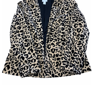 Primary Photo - BRAND: CHICOS STYLE: BLAZER JACKET COLOR: ANIMAL PRINT SIZE: M SKU: 196-19694-34662