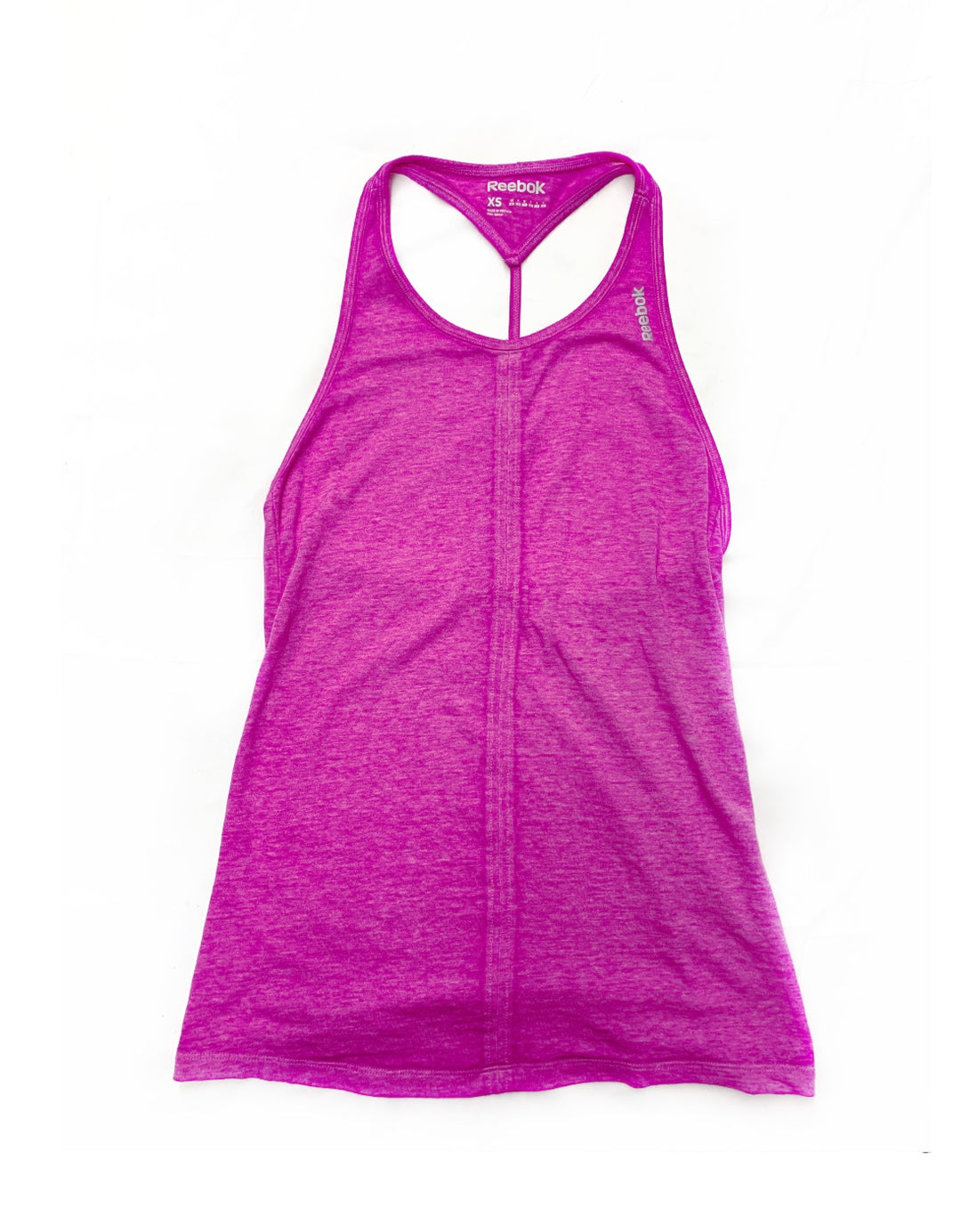 Primary Photo - BRAND: REEBOK<BR>STYLE: ATHLETIC TANK TOP<BR>COLOR: PINK<BR>SIZE: XS<BR>SKU: 196-19681-69916
