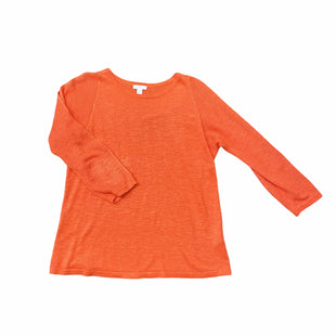 Primary Photo - BRAND: J JILL STYLE: SWEATER LIGHTWEIGHT COLOR: ORANGE SIZE: S SKU: 196-14511-47506