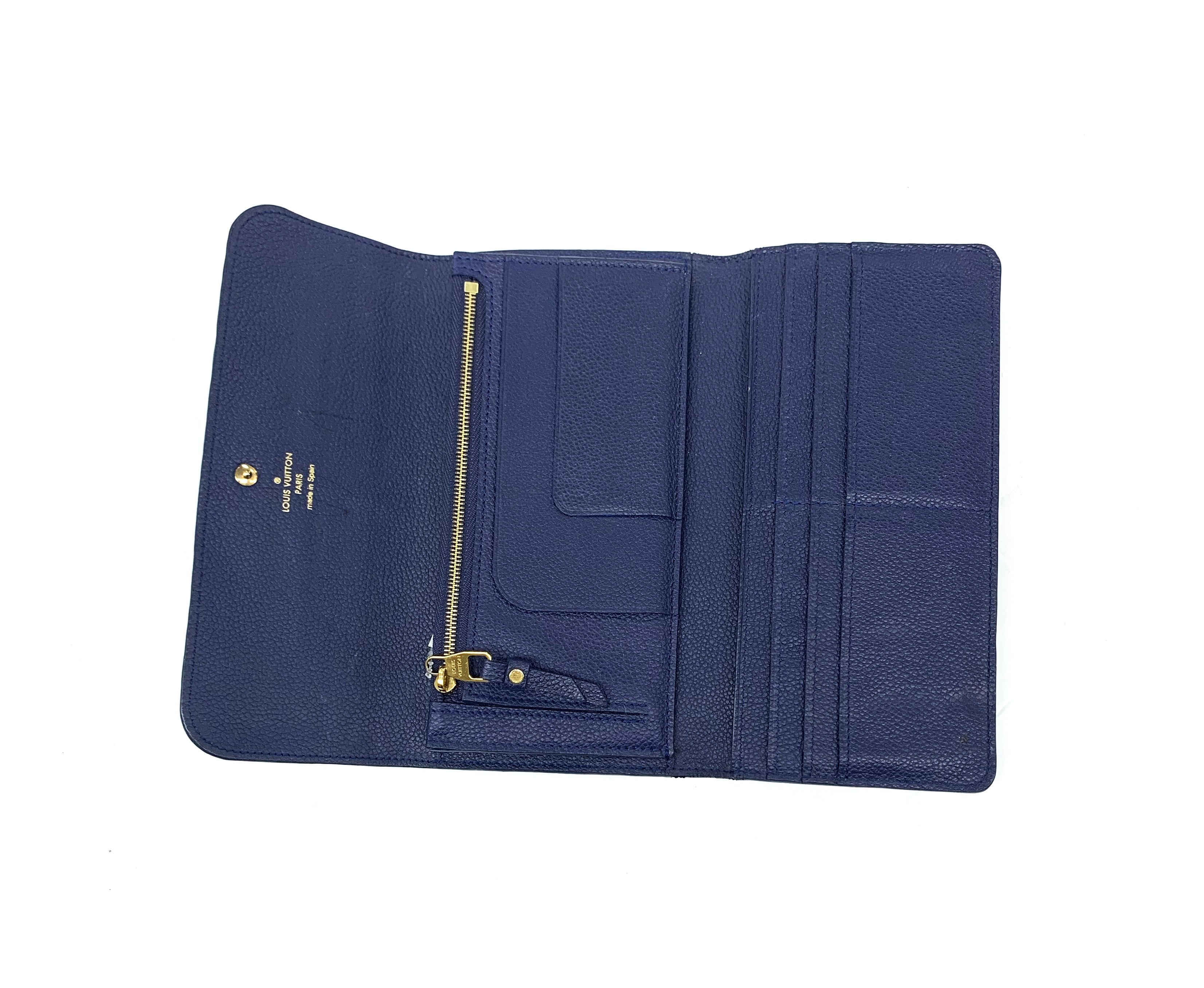 Louis Vuitton Wallet Size: Large - BRAND: LOUIS VUITTON<BR>STYLE: WALLET<BR>COLOR: BLUE<BR>SIZE: LARGE<BR>OTHER INFO: VITROUZ<BR>MODEL NUMBER: CA0133<BR>SKU: 196-19681-70076