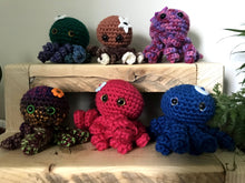 Load image into Gallery viewer, Crochet Octopus