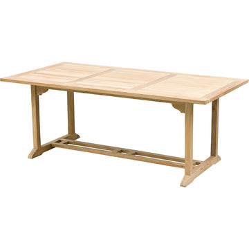 SOLID TEAK TABLE 2MX1M