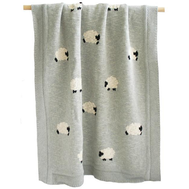 ORGANIC COTTON SHEEP BLANKET