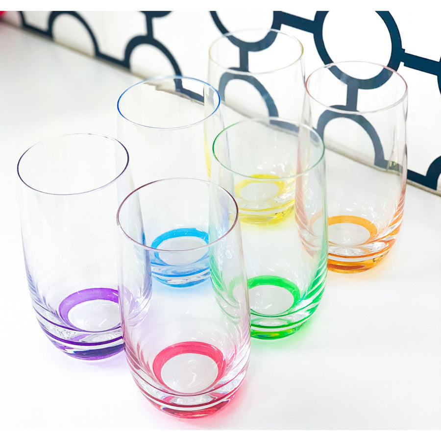 COLOURED GLASSES
