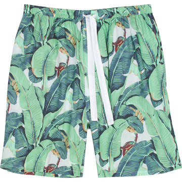 Men's Martinique Banana Leaf Sleep Shorts