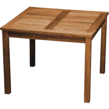 Teak Square Table