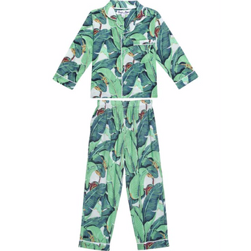 Kids Martinique® Banana Leaf Shirt + Pant Set