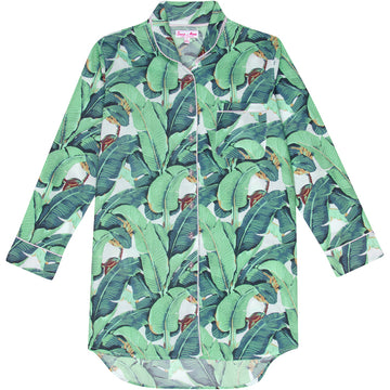 Women's Martinique Banana Leaf Night Shirt