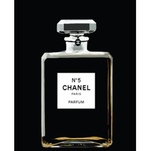 White Chanel No. 5 Painting