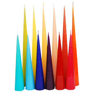 CONICAL CANDLES