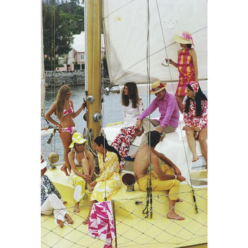 Colourful Crew by Slim Aarons