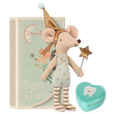 Maileg Mouse as a Tooth Fairy