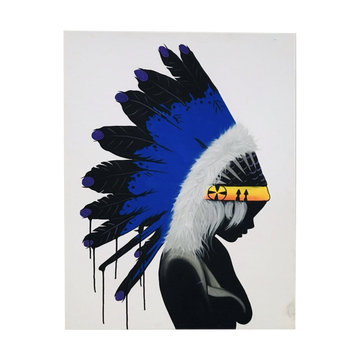 Headdress Painting