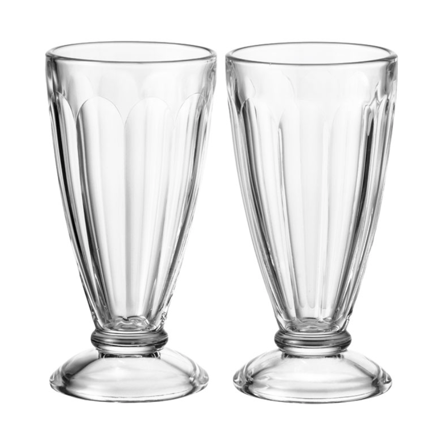 Ice Coffee Glasses Set Of Two
