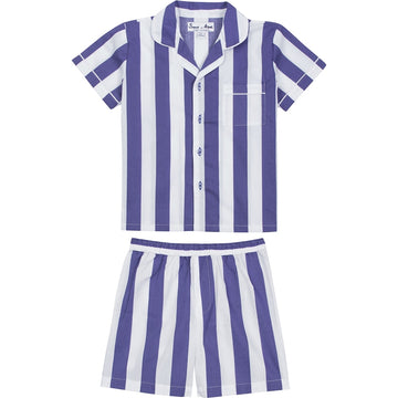 Boys Navy Braddock Shirt + Short Set