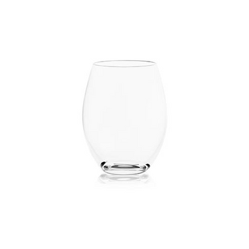 Plumm Crystal Stemless Glasses